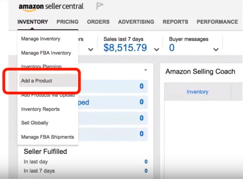 amazon seller central sales tax