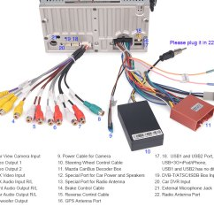 Can Bus Wiring Diagram 1991 Toyota Pickup Trailer Mazda 3 Online 7 Bil Dvd Player For Sensors