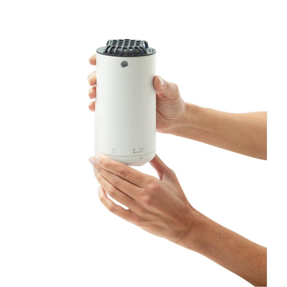 thermacell patio shield mosquito repeller white