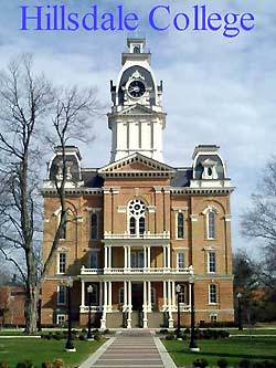 Hillsdale College HC Introduction and Academics  Hillsdale MI