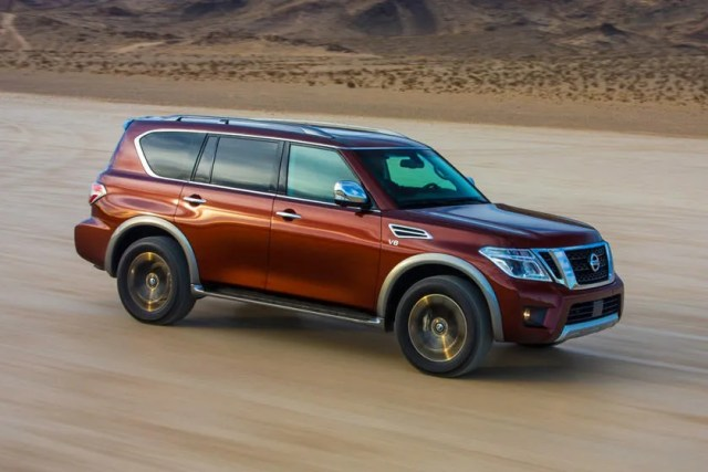 2021 nissan armada price review ratings and pictures