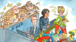 Winning the generation game (C) The Economist Sept 28th 2013