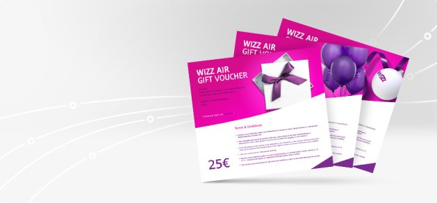Wizz Air Gift Vouchers