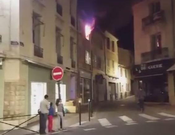 VIDEO Un appartement en feu vacu  VarMatin