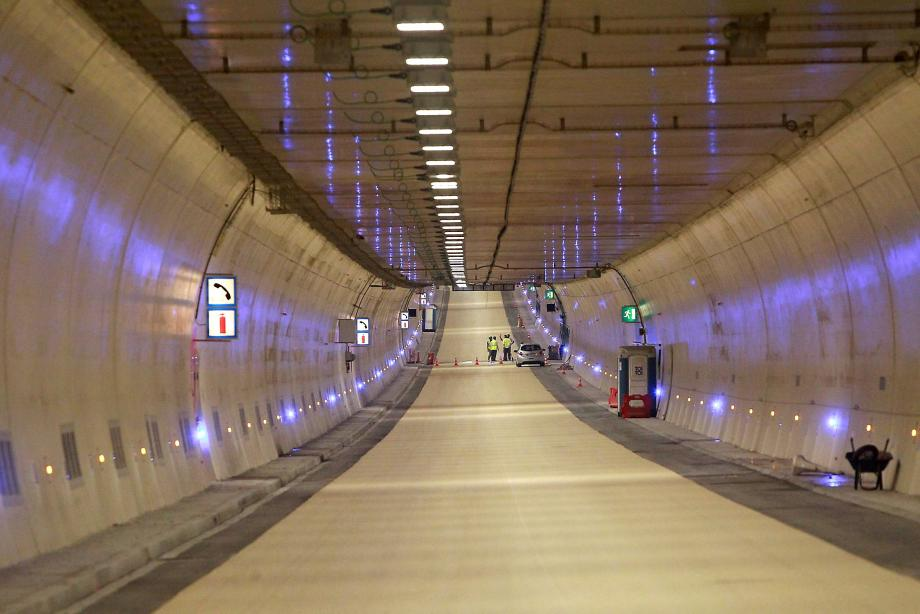Le tunnel de Toulon