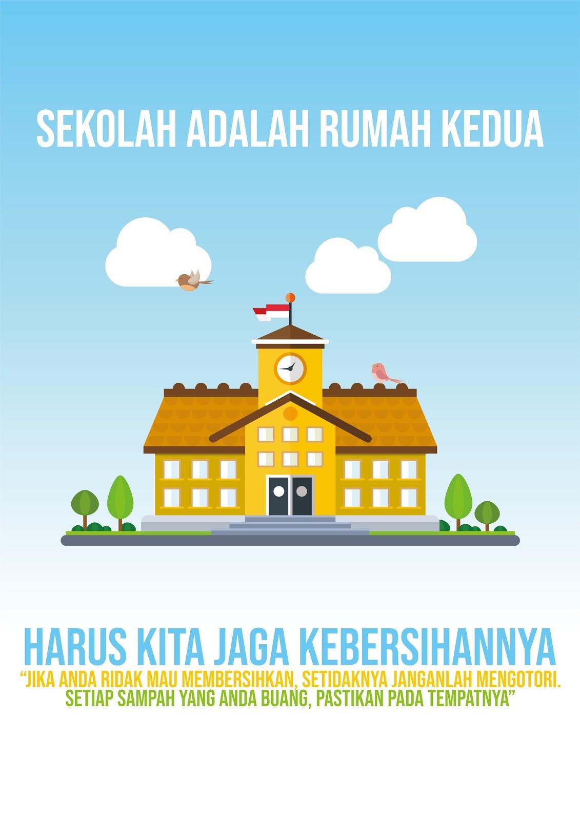 Poster Lingkungan Sekolah : poster, lingkungan, sekolah, Bagus, Untuk, Poster, Lingkungan, Sekolah