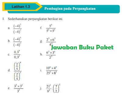 Dalam pembelajaran 3 disebutkan bahwa insan sanggup. Jawaban Soal Matematika Kelas 9 Halaman 20 Latihan 1 2 Pdf Soalkunci