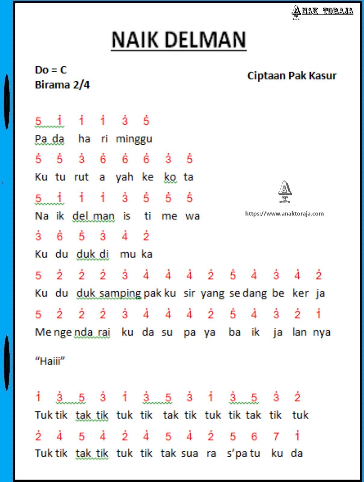 Chord dan Lirik Lagu Tanah Airku Ciptaan Ibu Sud, Lagu