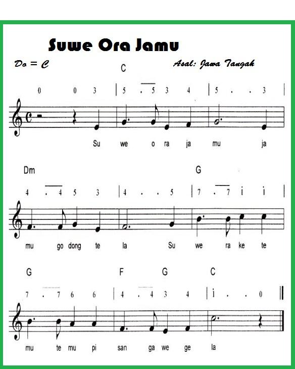 Lagu Suwe Ora Jamu Berasal Dari : berasal, Goreng