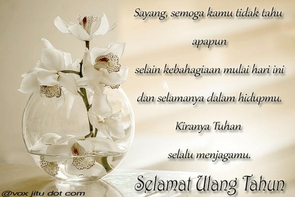 Ucapan Selamat Ulang Tahun Islami Untuk Sahabat
