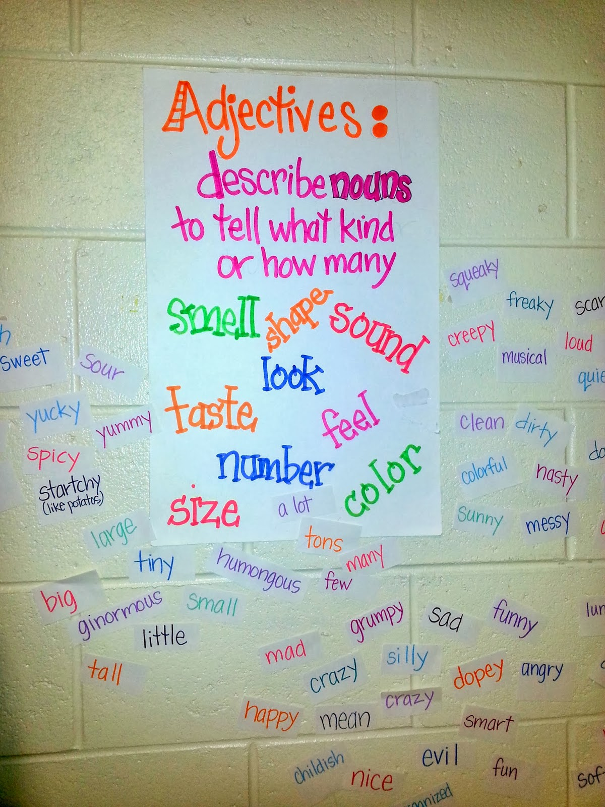 Adjectives That Describe Me D Kate S