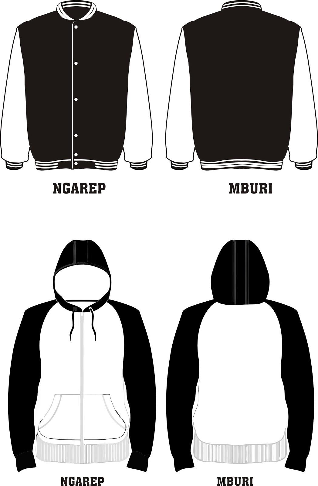 Desain Jaket Bomber Cdr : desain, jaket, bomber, Download, Desain, Jaket, Bomber