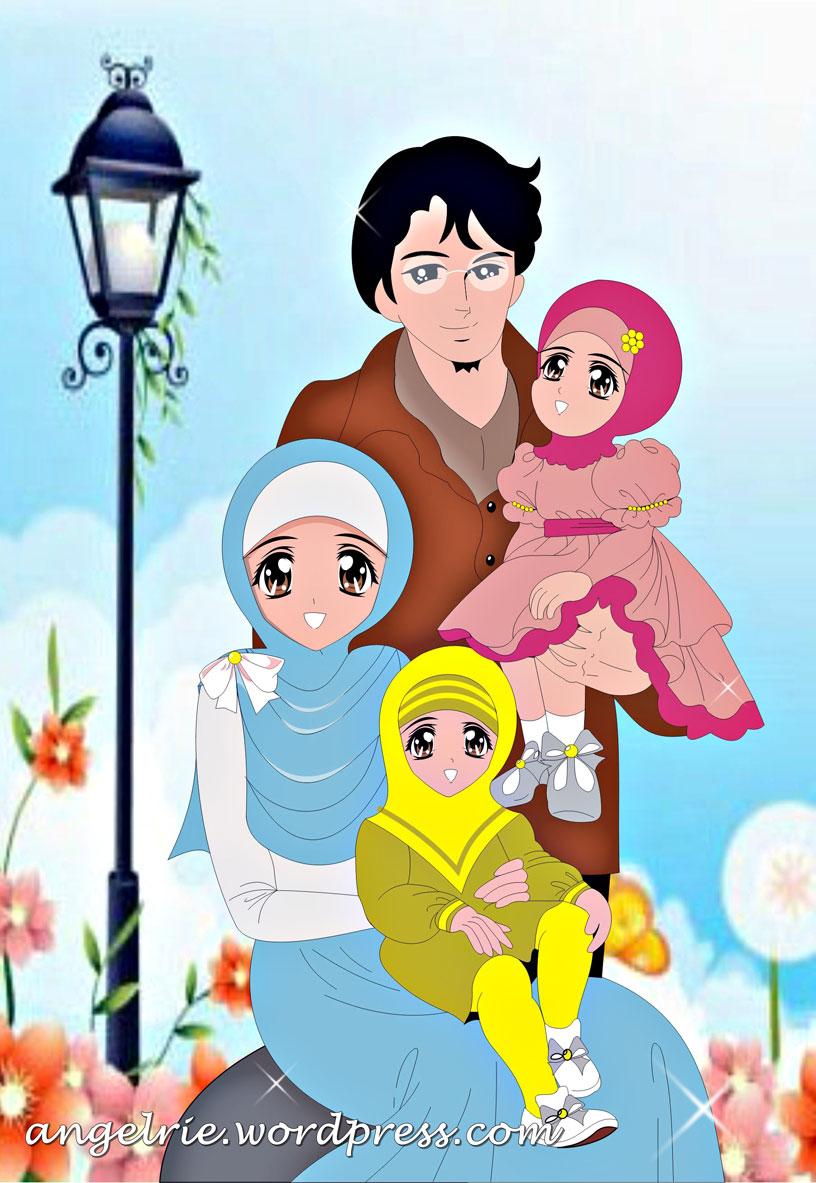 Animasi Keluarga Sehat : animasi, keluarga, sehat, Gambar, Kartun, Orang, Perempuan