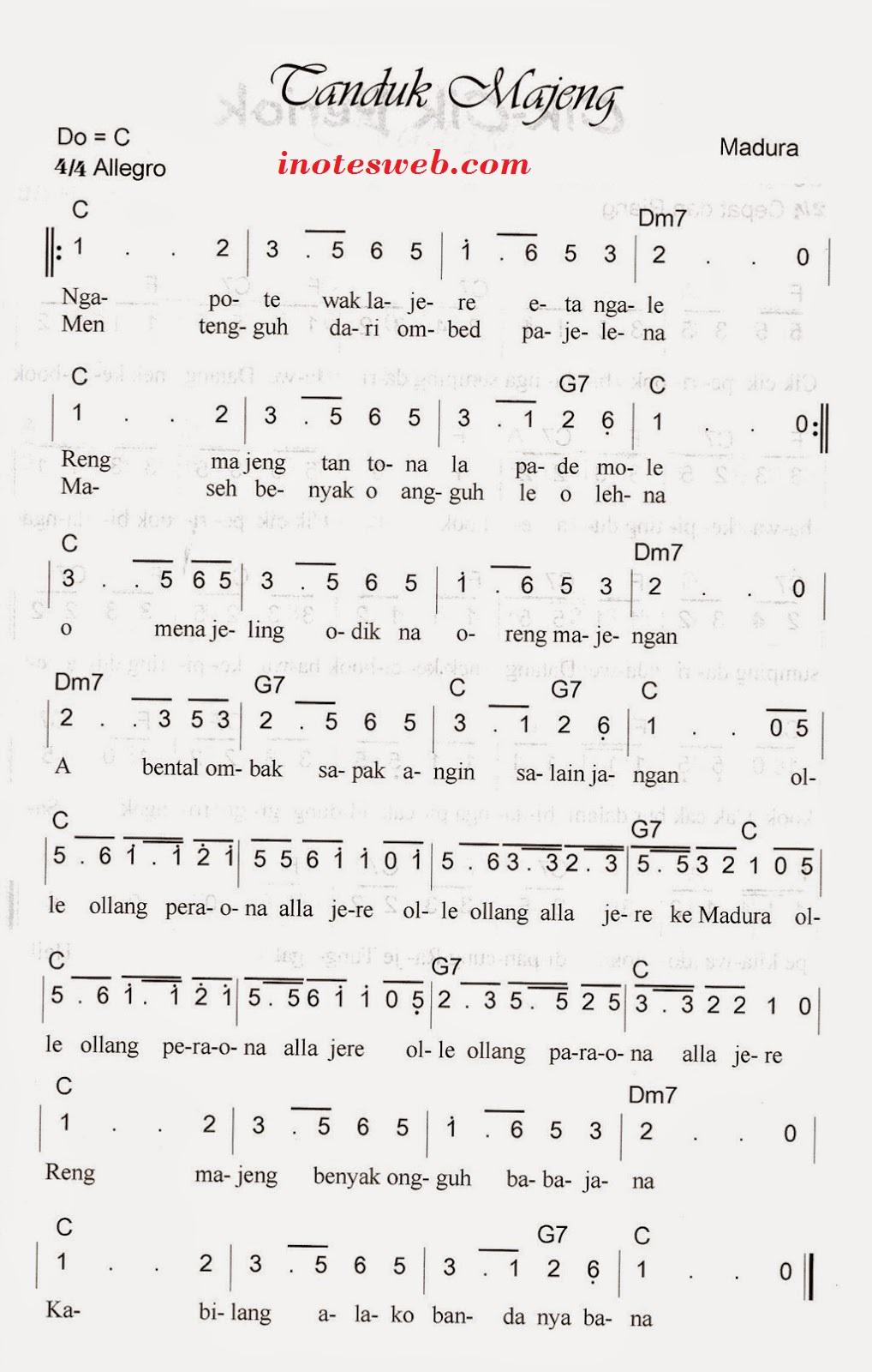 Lirik Lagu Tanduk Majeng : lirik, tanduk, majeng, Tanduk, Majeng