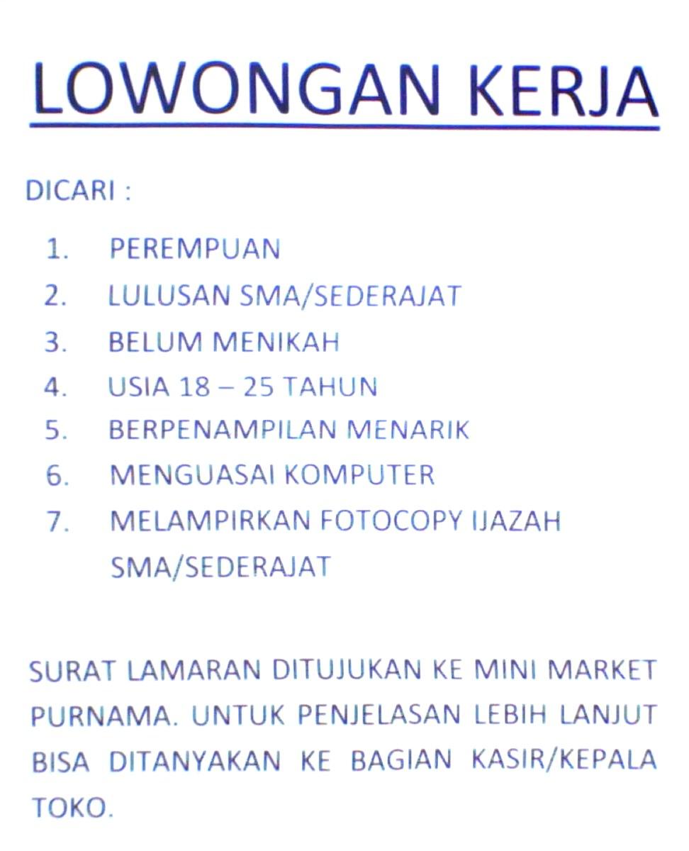 Info Loker Bdg - Home | Facebook