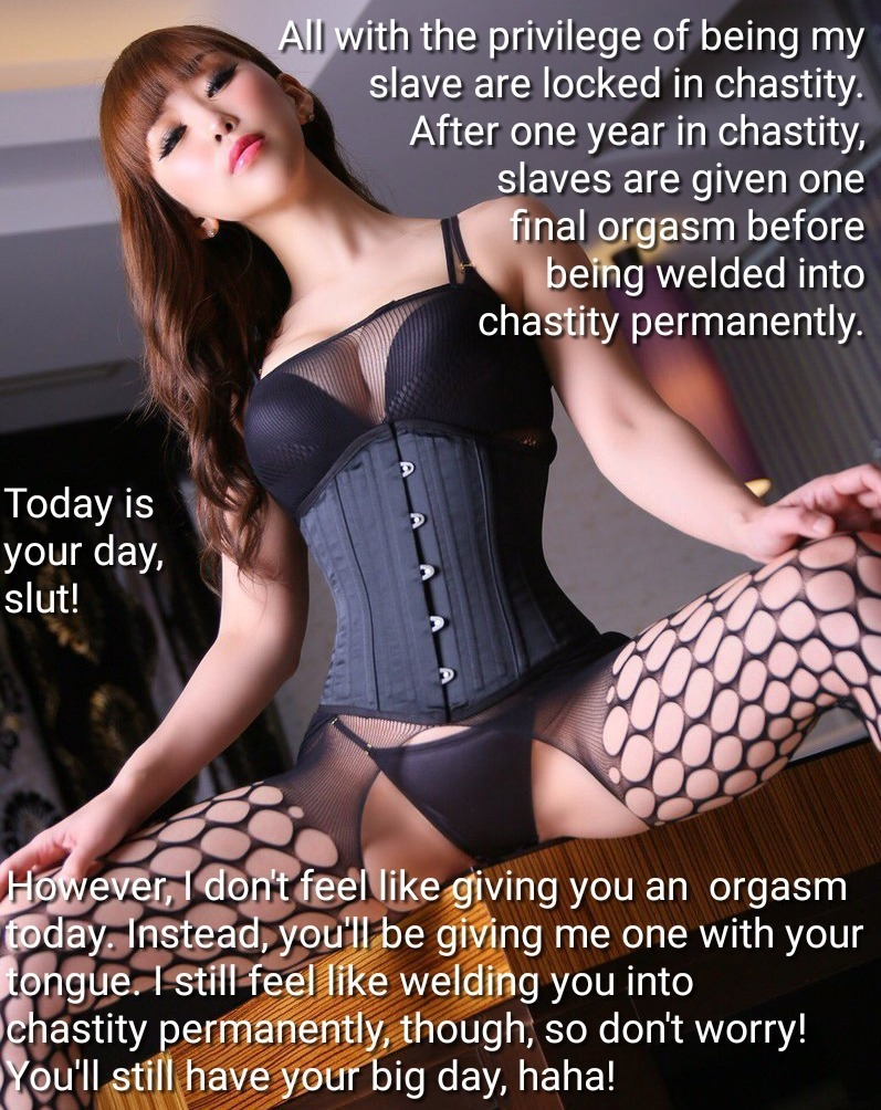Permanent Chastity Stories : permanent, chastity, stories, Welded, Permanent, Chastity, Captions, Revenge