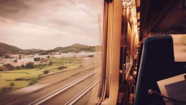 Reise mit der Bahn - Jürgen Becker - Abenteuer