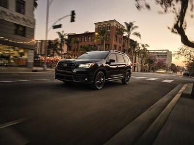 Subaru Announces Pricing on 2022 Ascent 3-Row SUV Including New Onyx Edition Trim Level