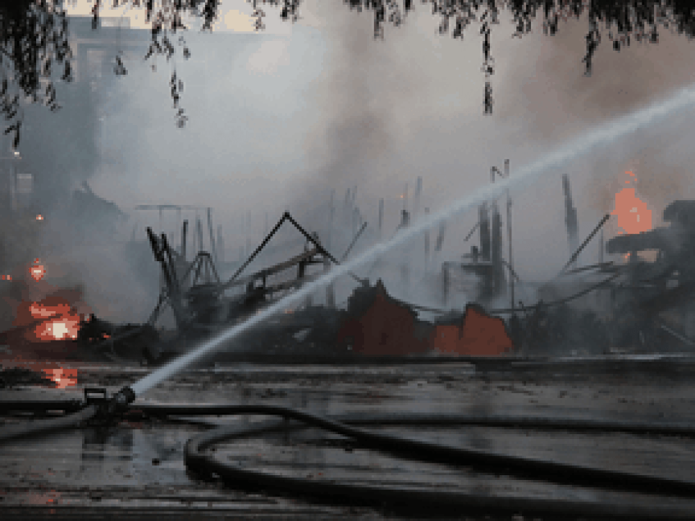 The St. George Coptic Orthodox Church in Surrey was destroyed by an early-morning fire on July 19.