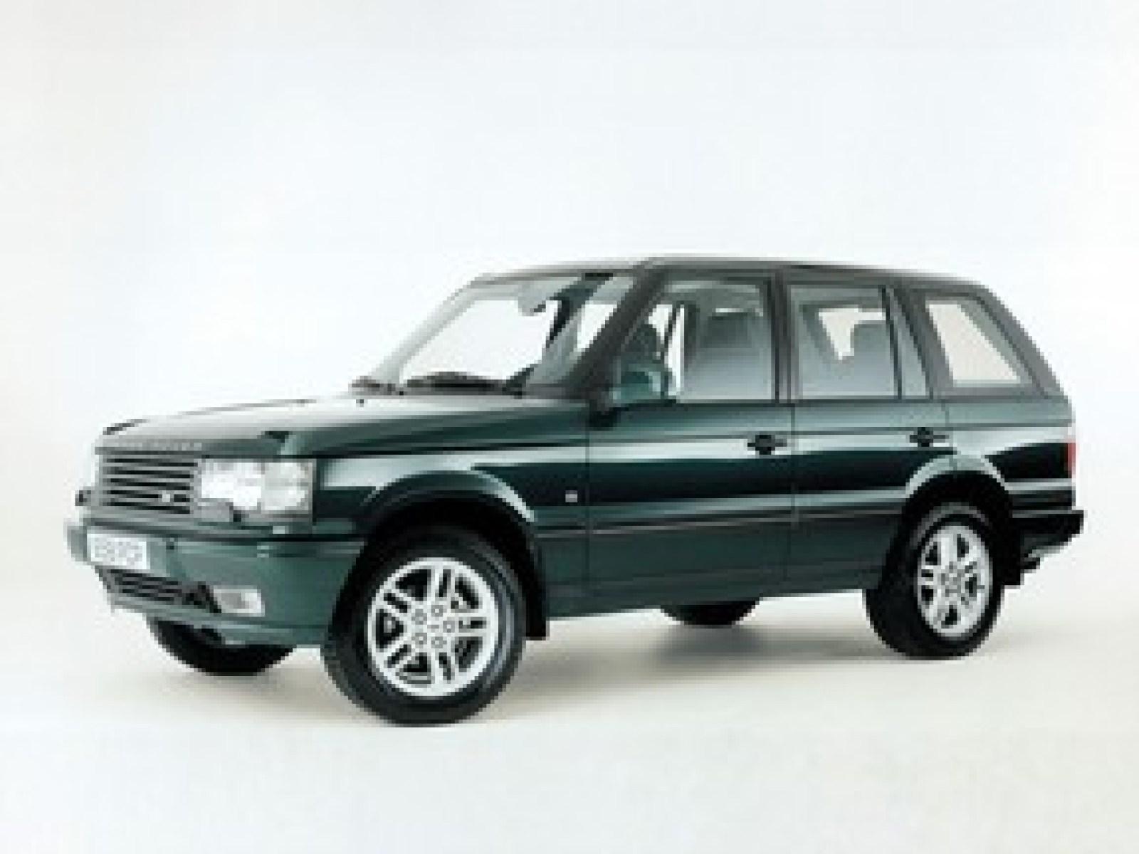 A 2000 Land Rover Range Rover