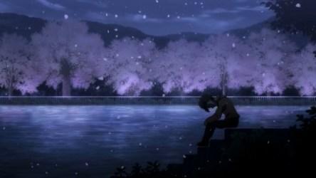 Night Anime Wallpaper Scenery