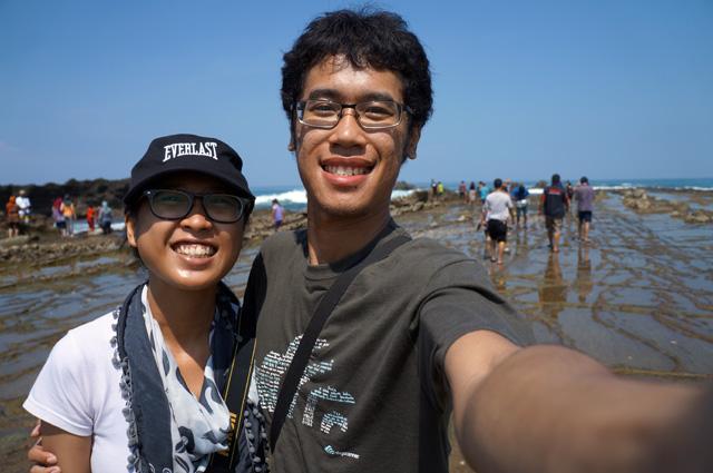Apapun, Tanjung Layar ketika surut paling asik buat selfie :D