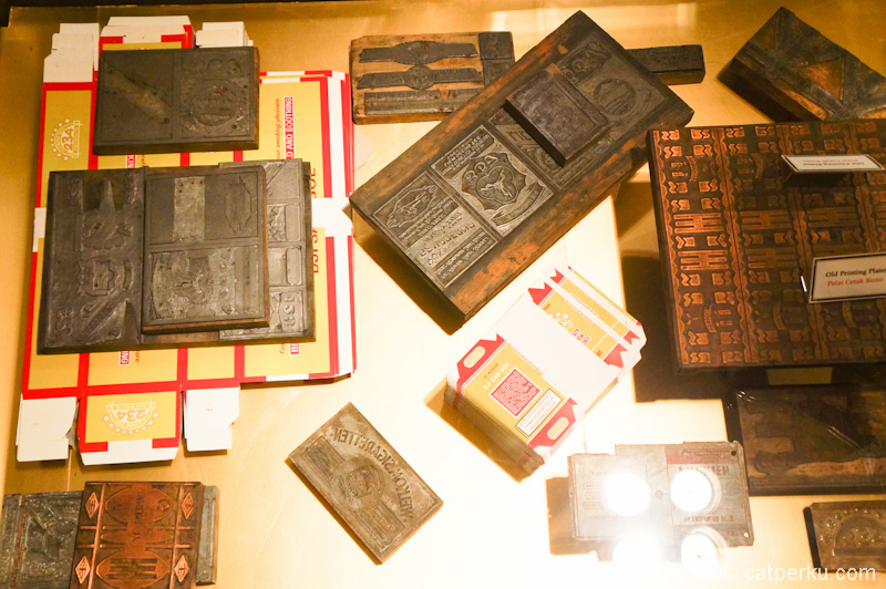 Beberapa plate lain untuk mencetak bungkus rokok