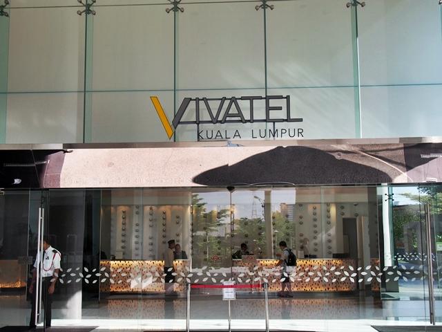 Lobby Vivatel hotel.