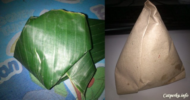 Tipikal Nasi Jinggo yang sering dijual di Bali