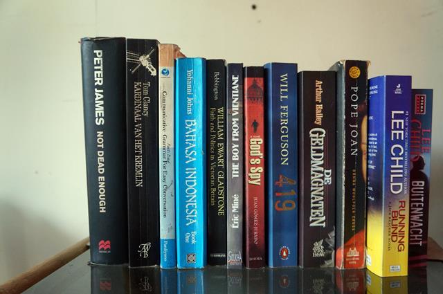 Berburu buku langka di Prawirotaman? Boleh dicoba :)
