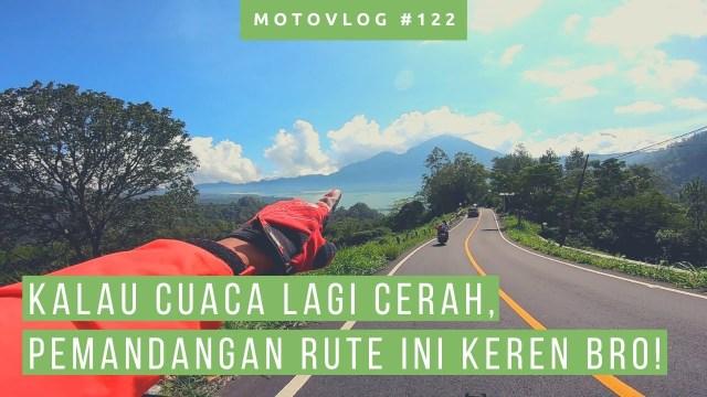 Solo Riding Ke Black Lava Kintamani, Mau Coba Bro!? [ Motovlog Bali ]