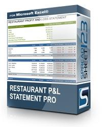 Contoh Laporan Keuangan Cafe & Resto : contoh, laporan, keuangan, resto, Laporan, Keuangan, Excel