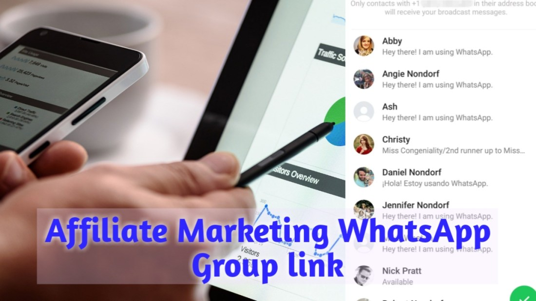 Affiliate marketing Whatsapp group, active Affiliate marketing Whatsapp group link, amazon Affiliate marketing Whatsapp group link
