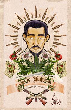 Jesus Malverde Stickers | Redbubble