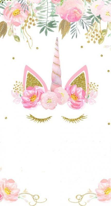 invitation unicorn wallpaper birthday