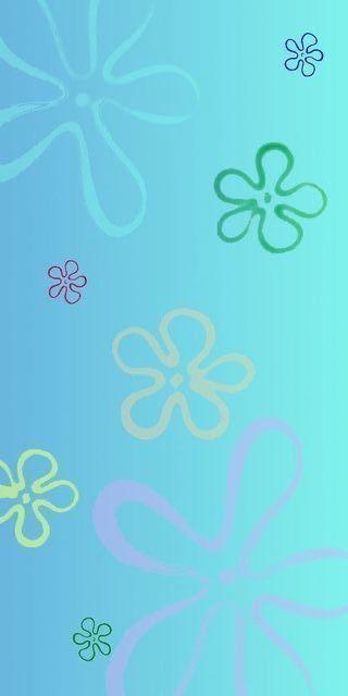 Spongebob Flower Sky : spongebob, flower, Spongebob, Flowers, Wallpaper