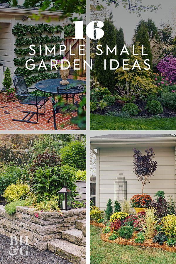 Small Space Small Garden Ideas Pinterest