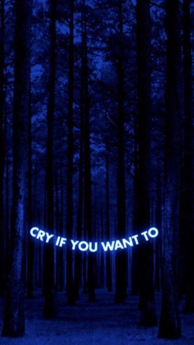 Midnight Blue Dark Blue Aesthetic : midnight, aesthetic, Midnight, Aesthetic, Wallpaper, Quotes