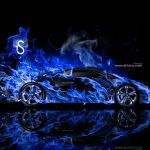 Blue Wallpaper Black Lamborghini