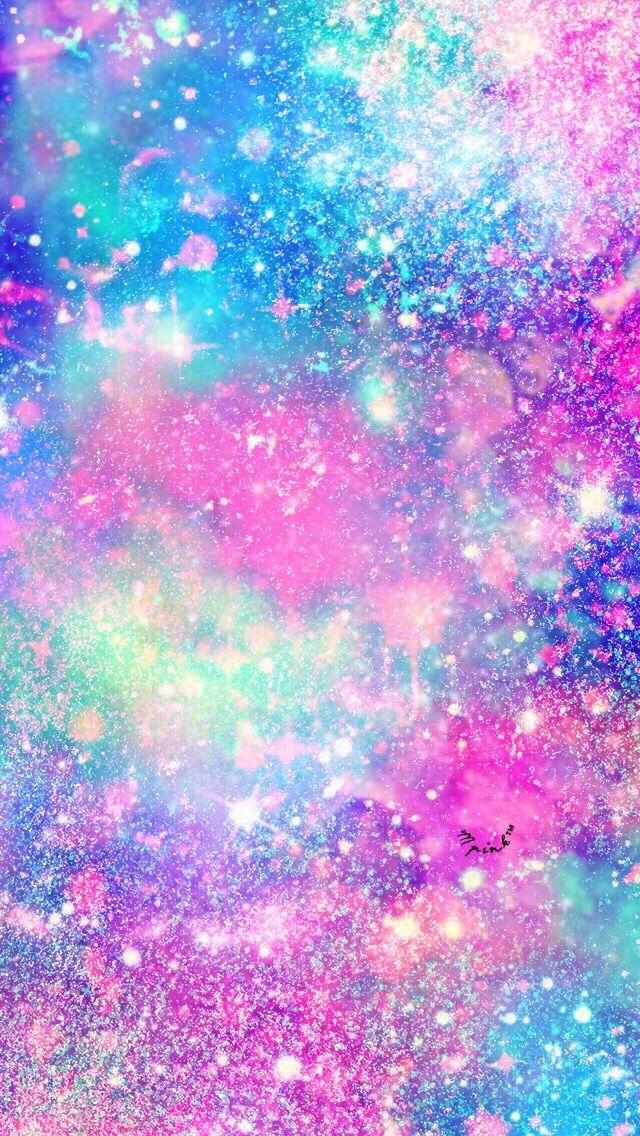 Galaxy Rainbow Glitter Wallpaper : galaxy, rainbow, glitter, wallpaper, Galaxy, Rainbow, Glitter, Wallpaper