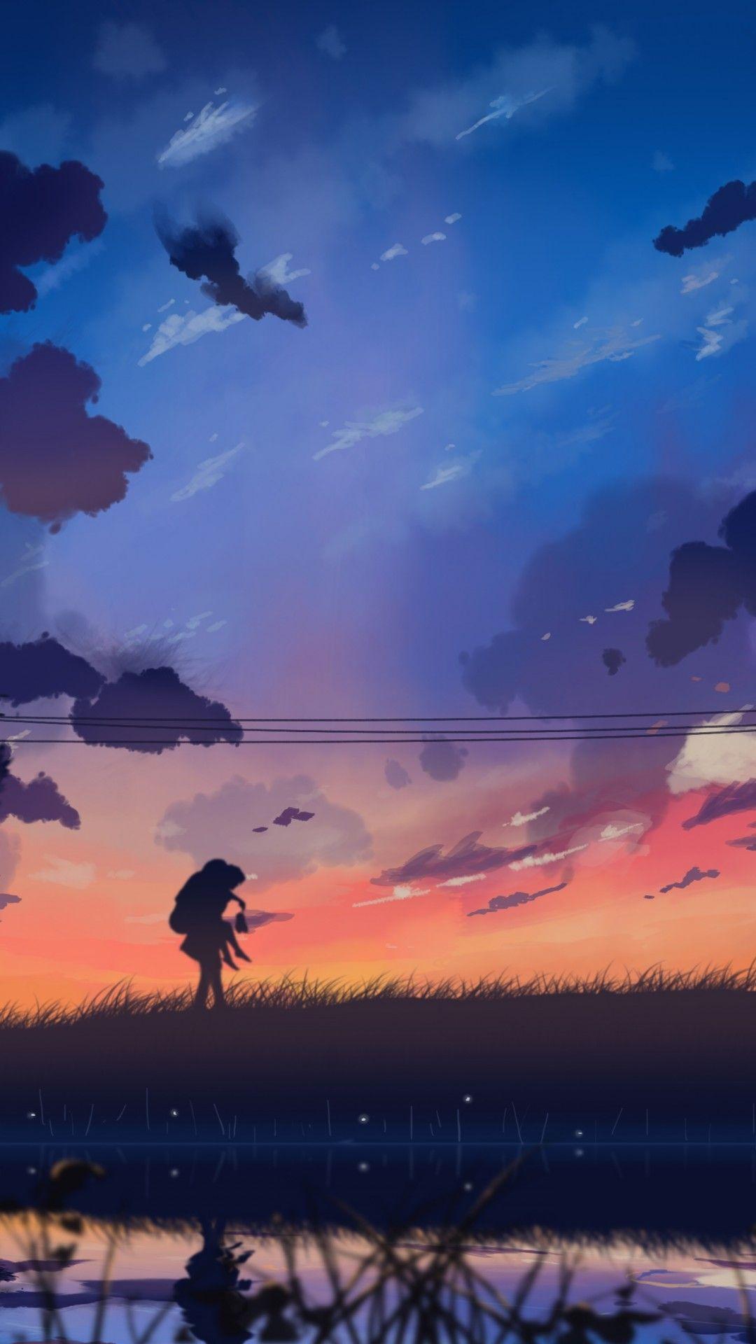 Anime Wallpaper Ipad : anime, wallpaper, Scenery, Anime, Wallpaper