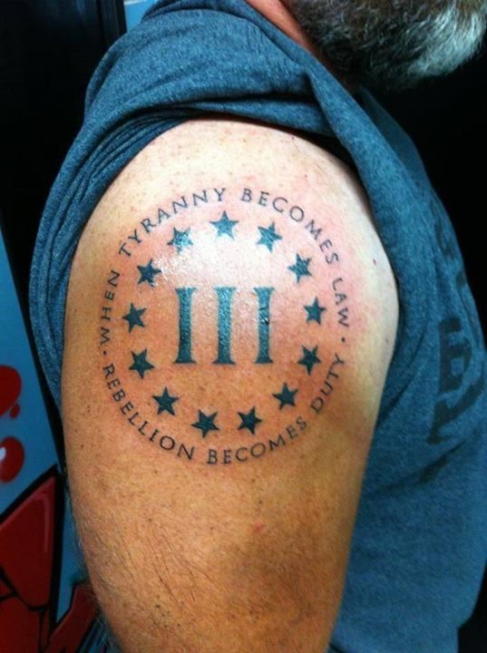 3 Percenter Tattoo Meaning : percenter, tattoo, meaning, Percenter, Tattoo, Meaning