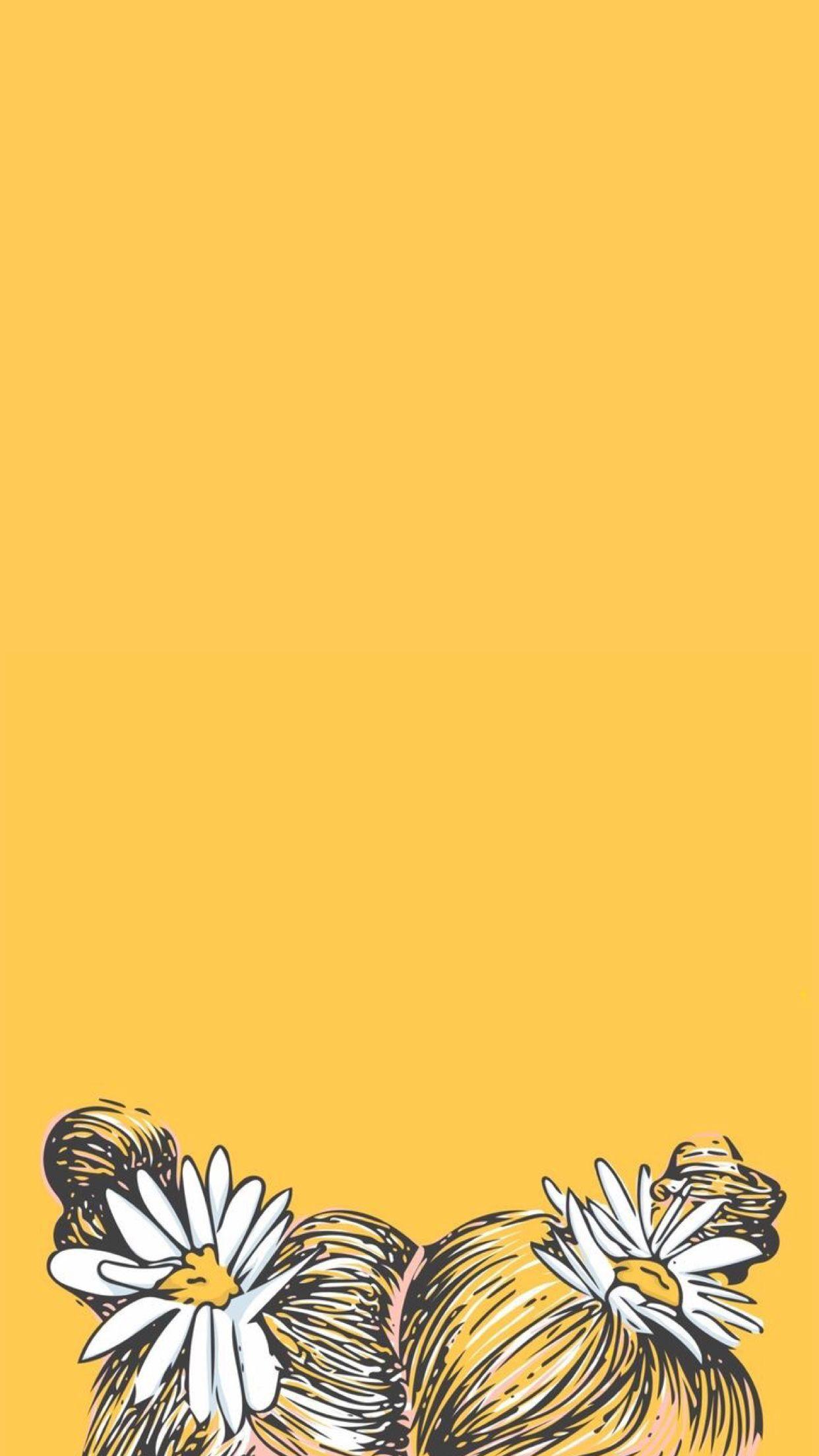 Yellow Girly Wallpaper : yellow, girly, wallpaper, Wallpapers, Yellow