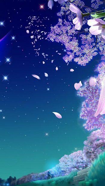 Anime Cherry Blossom Wallpaper 4k