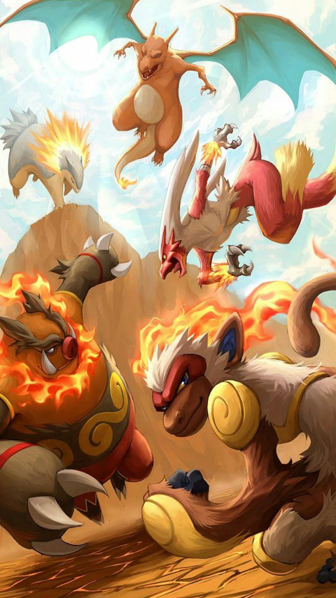 Pokemon Starters Wallpaper : pokemon, starters, wallpaper, Pokemon, Starters, Wallpaper