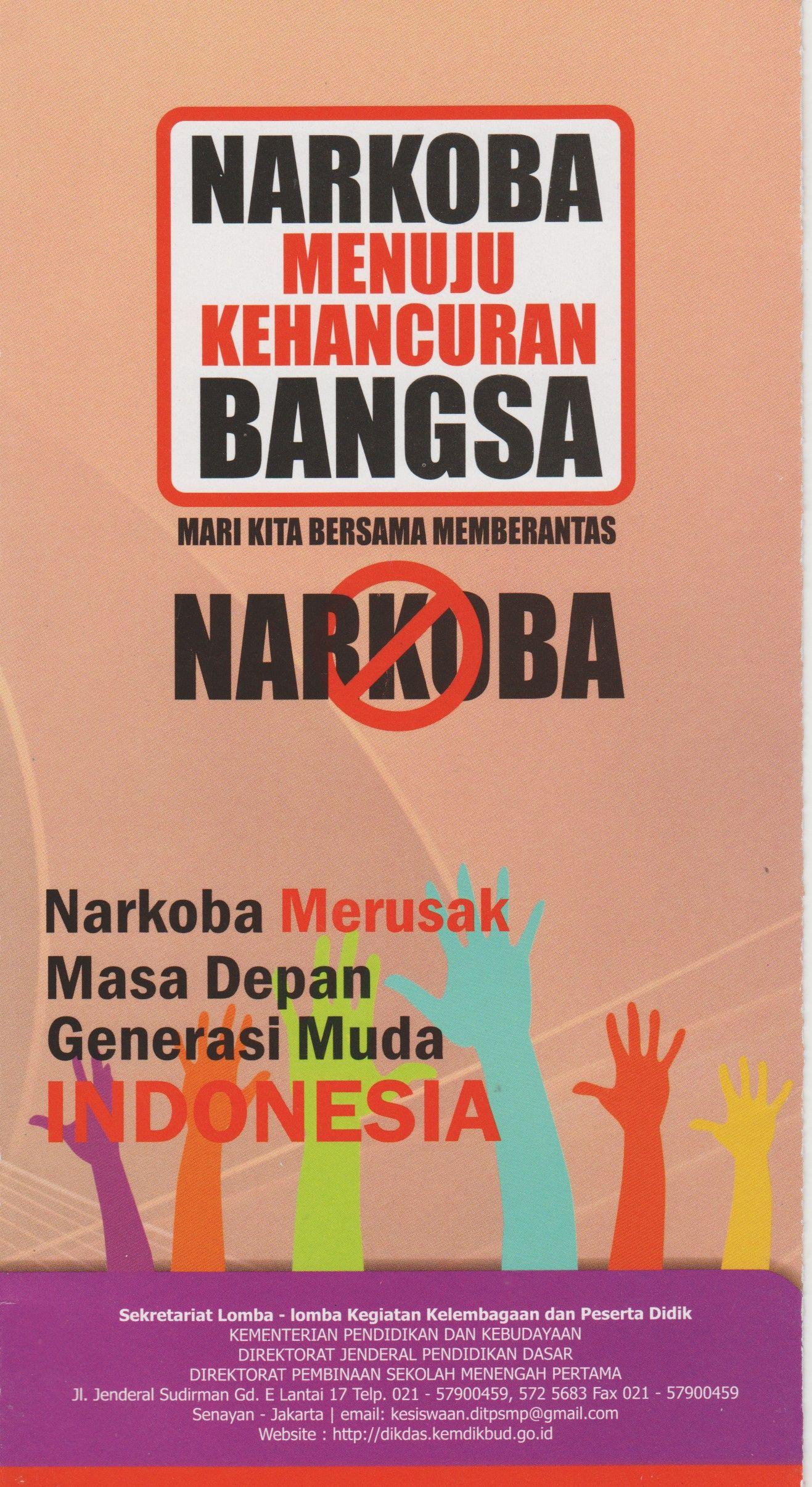 Contoh Poster Narkoba : contoh, poster, narkoba, Bagus, Untuk, Poster, Narkoba