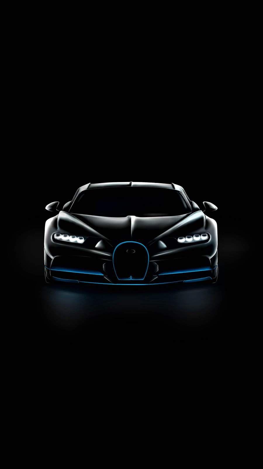 Neon Bugatti : bugatti, Wallpaper, Iphone, Bugatti, Chiron