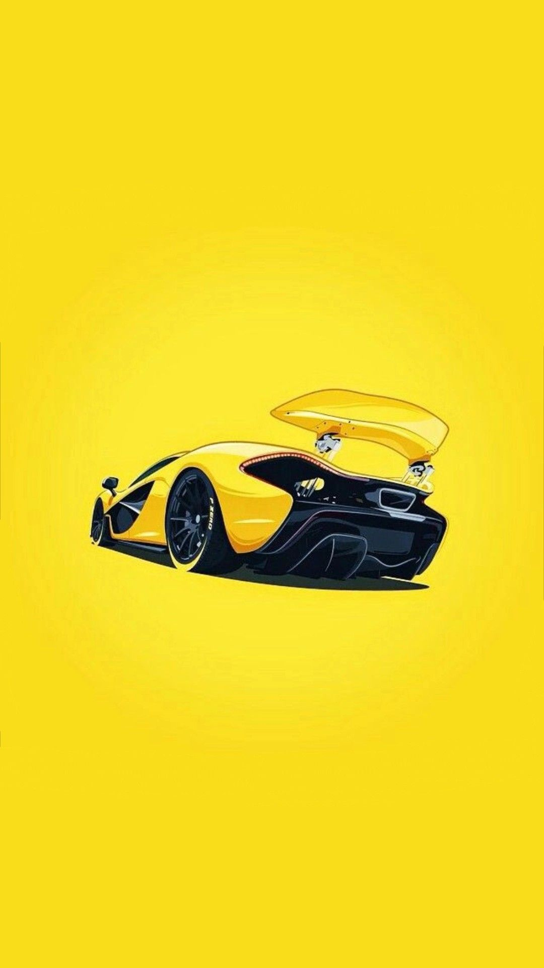 It's fun—and very harry potteresque—to have a bit of motion on your lock screen. Mclaren P1 Yellow Wallpaper Hd