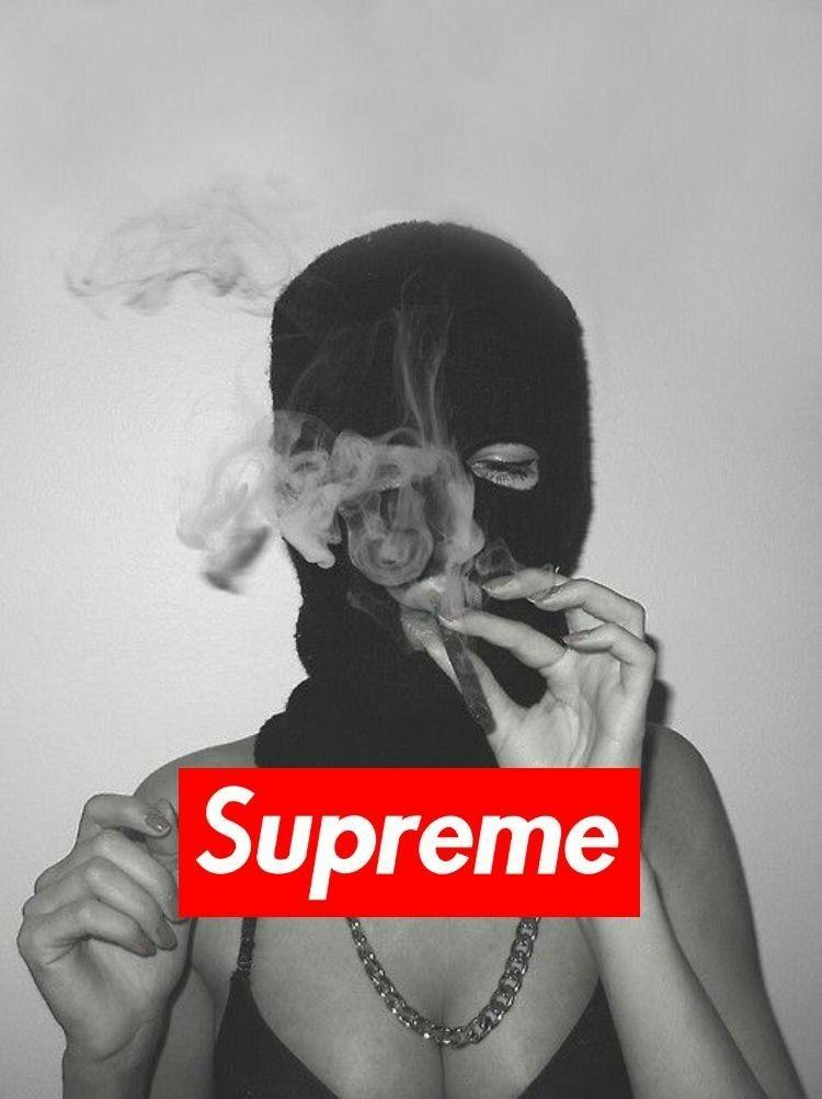 Supreme Wallpaper Girl : supreme, wallpaper, Supreme, Wallpaper, Smoking