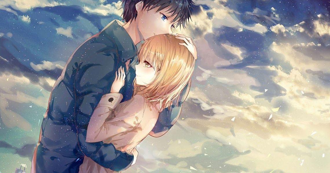 Anime Couple Wallpaper 4k